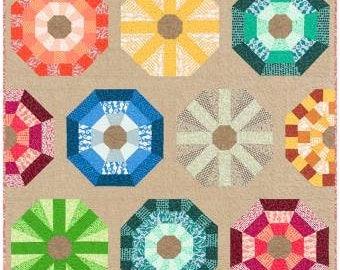 Sea Urchin Quilt Pattern by Elizabeth Hartman