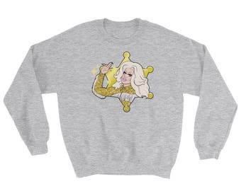 Trixie Mattel Fan Art | Rupaul's Drag Race All Stars 3 AS3 Katya Zamolodchikova Adore Delano Oh Honey Alyssa Christmas Sweater Gift
