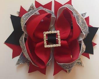 SALE Santa 5inch Christmas Bow