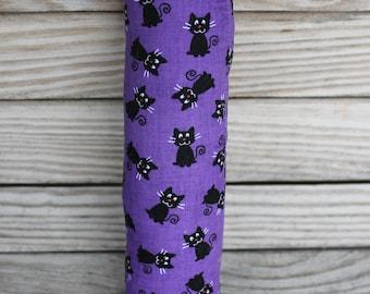 Catnip toys, Kitty Kickers by Kel, Cat kick sticks, Catnip, Kitty Kickers, Kitty Kick Stick, Purple black cats, halloween cats