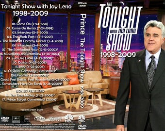 Prince The Tonight Show 1998-2009 Ex quality!