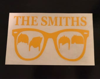 The Smiths Sunglasses Decal