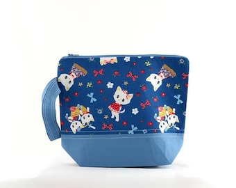 Kitten Picnic Small Project Bag