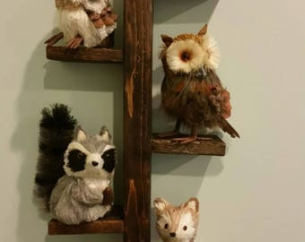 Reclaimed Pallet wood Hallway Shelf, Narrow Shelf, Wood Shelf