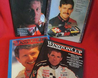"Four ""Winston Cup Illustrated"" 1992 Volumes"