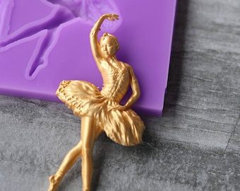 Dancer Silicone Mold