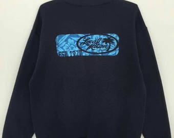 Rare!! Vintage Local Motion Hawaii Pullover Jumper Sweatshirt