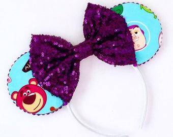 The Toys - Handmade Mouse Ears Headband