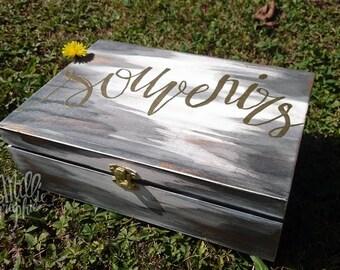 Birth keepsake box