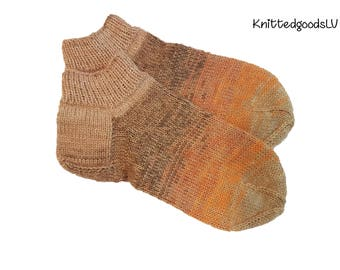 knitted slippers , knit slippers for Woman , knit wool slippers , knit slippers , handmade slippers , latvian slippers , warm , wool , gift