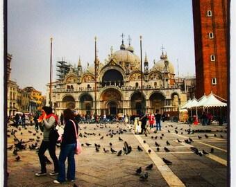 Photo framed Venice