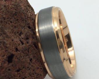 Men's Tungsten Wedding band , Men's Tungsten wedding ring , Tungsten Wedding band , Tungsten Carnide ring Tungsten ,Carbide ring