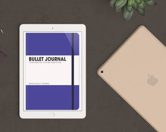 Purple Digital Bullet Journal for Goodnotes - iPad & iPhone