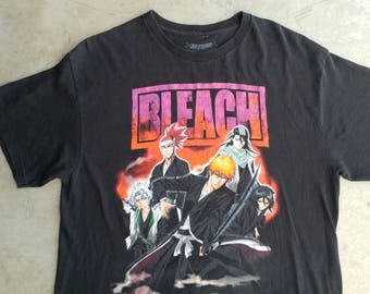 Bleach Anime T-Shirt Bleach Manga Tee Shirt BLEACH T-Shirt