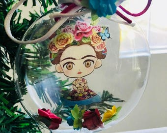 Frida ornament / esferas Frida Kahlo