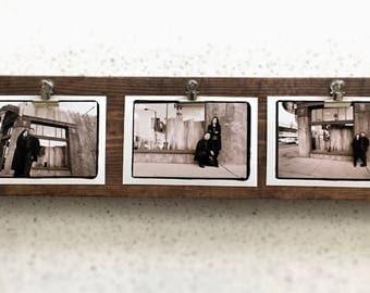 Rustic Horizontal Photo Display Board