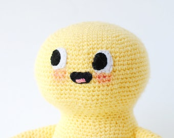 Fran | One-of-a-kind Crochet Doll, Amigurumi Doll, Handmade Plushie, Ready to Ship Kids Gift,