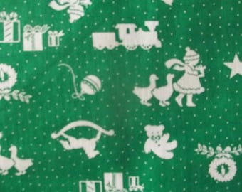Christmas Spirit Allover Print Fabric
