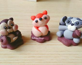 Woodland Animals, woodland cake topper, animals topper, baby shower topper, birthday cake, woodland party