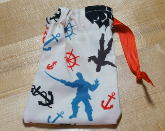 Pirates of the Carribean Inspired Drawstring Bag (iheartpinbags.com)