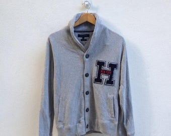 ON SALE 20% Tommy Hilfiger Jacket Medium Tommy Hilfiger Cotton Jacket Hilfiger Jacket Hilfiger Size M