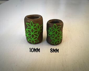 Flower of Life Dread Beads