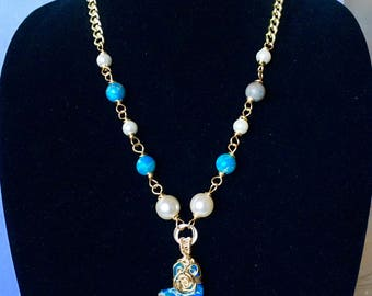 Pearls and Jasper necklace