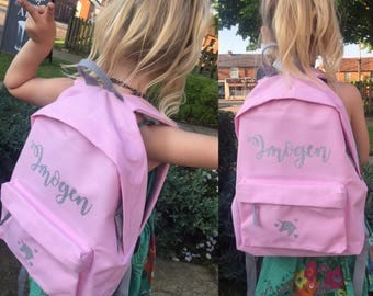 Personalised Rucksack With Name