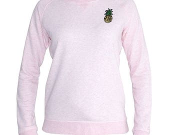 Sweater pink pineapple