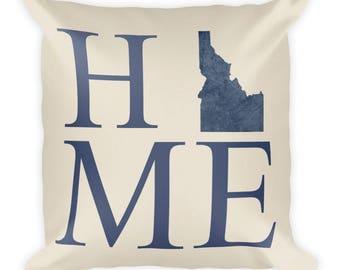 Idaho Pillow, Idaho Gifts, Idaho Decor, Idaho Home, Idaho Throw Pillow, Idaho Art, Idaho Map, Idaho Made, Idaho Cushion, Idahome