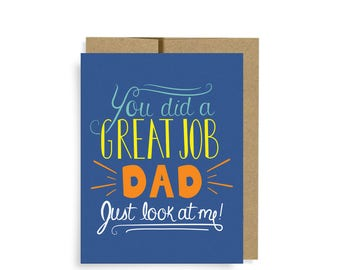 Father's Day Card, Witty