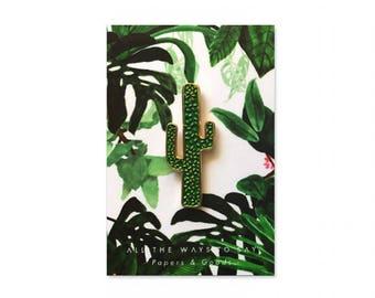 Cactus Green Pins
