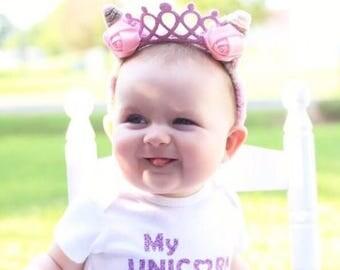 Pink princess Crown
