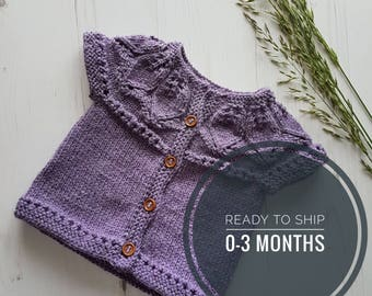 Knitted Baby Clothes | Baby Cardigan | Trendy Baby Clothes | Baby Girl Cardigan | Ready to Ship | Knitwear Baby Coat | Baby Girl Knitwear