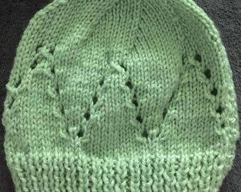 Celery Sophisticated Baby Beanie