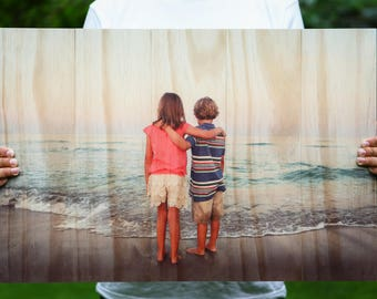 Photo On Wood, Custom Photo On Wood, photo pallets , Wooden Wall Art, Photo Printed On Wood, Wood Print 22.5in x 16.5in