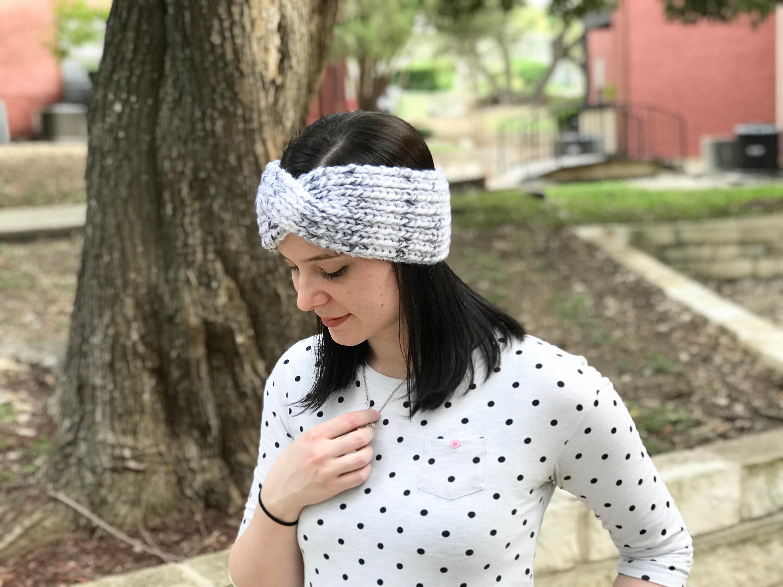 Twisted Headband // Women\'s Headband // Crochet Headband // Twisted ...