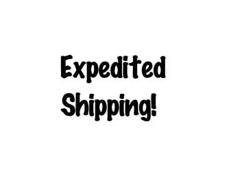 Expedited Shipping Valentine's Day Gift
