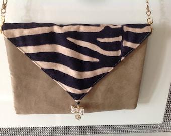 Bag strap or pouch Zebra