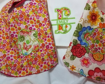 Bibs and Burp cloth
