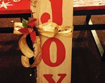 Wooden Holiday Sign