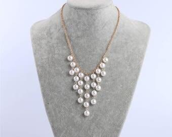 Pearl necklace choker,pearl choker,pearl choker necklace,gold,pearl necklace,for women,white pearl necklace,bridal choker,bridesmaid gift