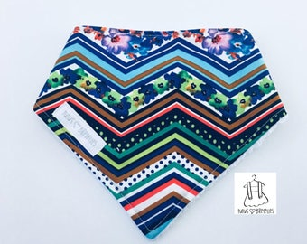 """Bandana"" bib - colorful"