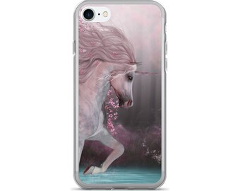 Unicorn iPhone Case, Phone Case Unicorn, Unicorn Phone Case, Protective iPhone Case, iPhone 7 Case, iPhone 6 Case, iPhone 5, Unicorn Gifts