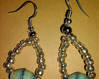 Hand-crafted Tear Drop Earrings