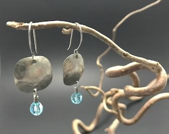 Soft square earrings