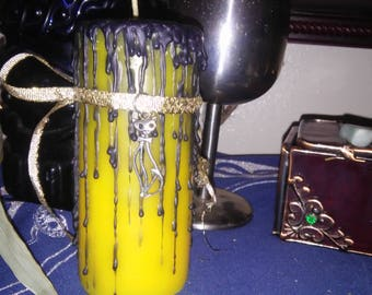 Goddess Bast Wiccan Ritual Candle