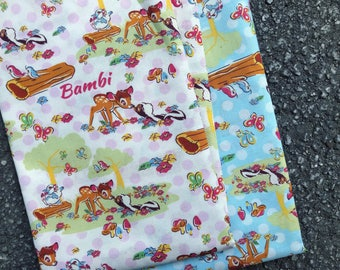 NEW ARRIVAL - Disney Bambi Fabric Made in Japan.