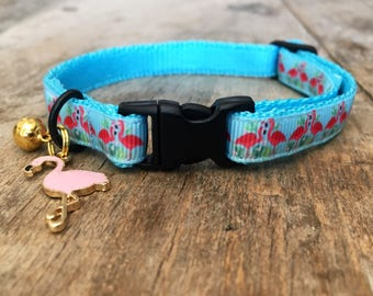 Flamingo cat collar - cute for summer