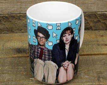 The I.T. Crowd Mug british tv Moss Roy Jen Channel 4 computer comedy